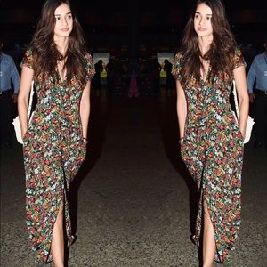 Zara Floral Dress Shirt
